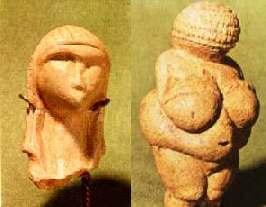 Las Venus de Brassempouy y Willenddorf